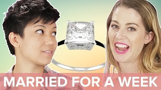 Single People Get Married For A Week • Jen & Kelsey
