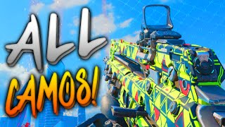 Black Ops 3 - ALL CAMOS! (Zombies, Multiplayer & Campaign Camo)