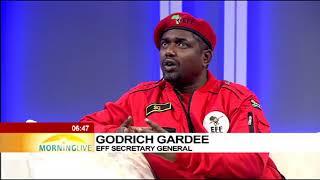 Godrich Gardee on court's decision to reserve judgement (Pres. Zuma impeachment bid)