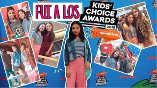 FUI A LOS KIDS CHOICE AWARDS 2018!!! // VLOG //