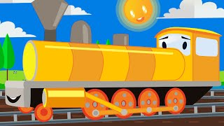 Funny Animated cartoons Kid | The Color Train | WATCH ONLINE | Cartoon for Children