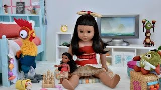 American Girl Doll Moana Bedroom