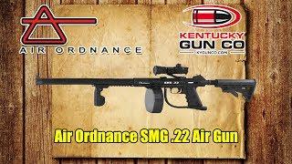 Air Ordnance Full Auto SMG .22 Air Gun