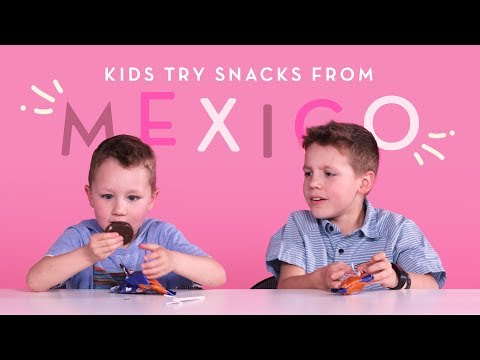 Mexican Snacks Kids Try HiHo Kids