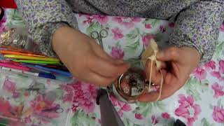 كروشي _    طريقة كروشيه تلبيسة قوري براد الشاي موديل جميل بسيط