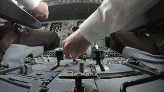 شاهد ما يحدث داخل مقصورة القيادة في الطائرة