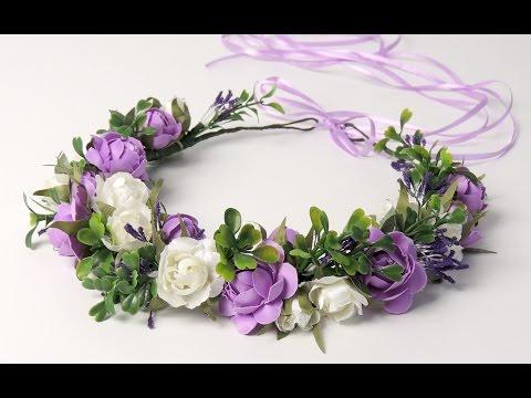 Цветы своими руками для венков