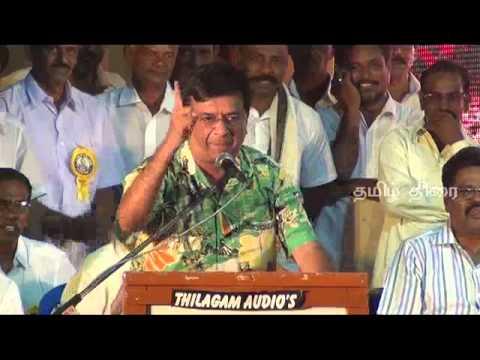 Y.Gee Mahendran talks about Sivaji Ganesan @ Karnan 150 Days Success Celebration 01