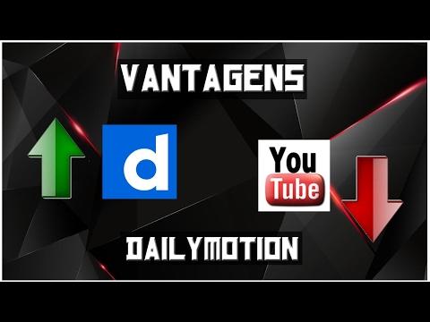 VANTAGENS DO DAILYMOTION !  [Concorrente do Youtube]