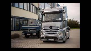 MB Actros 1851 MP4 - Truck Of The Year 2012(By Geo93)