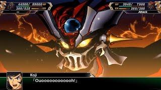 Super Robot Wars V (EN) - Mazinger ZERO Awakens & Mycenae Gods Arrival (Stage 38A)