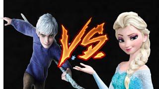 Zuando Um Rap - Elsa Vs Jack Frost