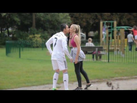 Cristiano Ronaldo Picking Up Girls