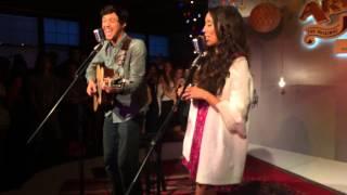 Alex & Sierra - Just Kids (Live Brooklyn NY)