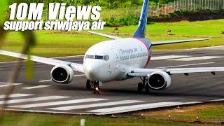 Video Ekslusif! Lihat Dengan Jelas Proses Pesawat Terbang Sriwijaya Air Take Off