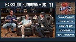 Barstool Rundown - October 11, 2017