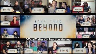 Star Trek Beyond - Official Trailer #2 (Reaction Mashup)