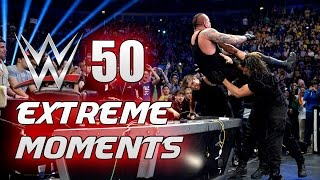 WWE 50 Momentos Extremos / WWE 50 Extreme Moments | Mundo WWE