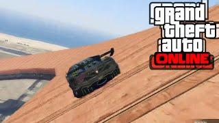 GTA 5 Online - Състезание   Летящи коли