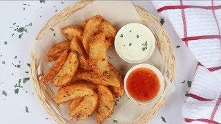 রেস্টুরেন্ট স্টাইল পটেটো ওয়েজেস   Crispy Potato Wedges   Fried Potato Wedges   Potato Wedges Bangla