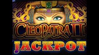 HUGE! Cleopatra 2 bonus Retrigger & jackpot