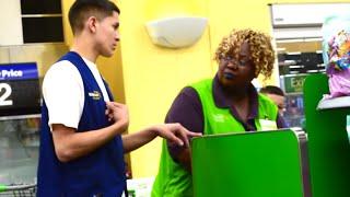 Pretending To Work At Walmart PRANK