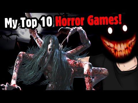 My Top 10 Horror Games! - Caddicarus
