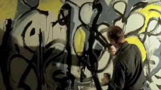 Jackson Pollock dancing colors   rivisiting Pollock movie with Ed Harris