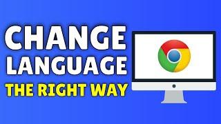 How To Change Language On Google Chrome | 2015