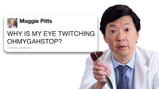 Ken Jeong Answers Medical Questions From Twitter | Tech Support | WIRED