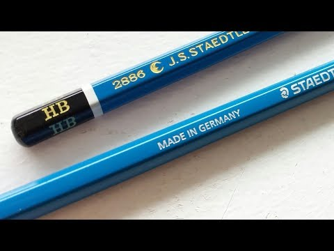 Best Pencil in the World search | Staedtler Mars Lumograph HB pencil review