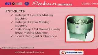 Detergent Powder Making Machine by Sakun Engineers Ahmedabad