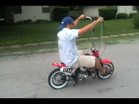 Honda CRF50 Rat Rod Lowrider - 50 INC Randy and SpeedyCycles