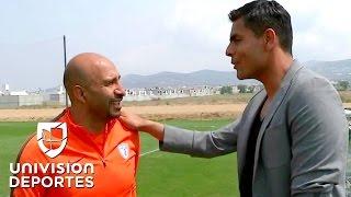 Oswaldo Sánchez y el 'Conejo' Pérez recordaron el día que Oscar se peleó con Cuauhtémoc