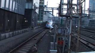 【HD】 Japanese Bullet Train  SHINKANSEN 500 series NOZOMI 新幹線500系