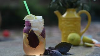 Basil Herbal Tea - Natural Remedy For Cough - Heghineh Cooking Show