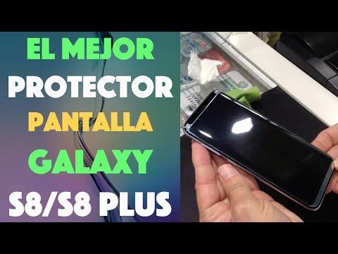 El mejor protector de pantalla para tu Galaxy S8 S8 Plus