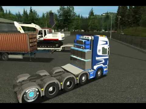 German Truck Simulator 2010 Scania Karner Part 1