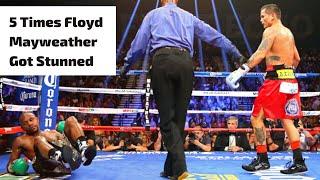 5 Times Floyd Mayweather Got Stunned