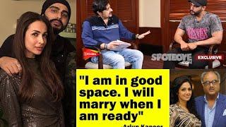 Arjun Kapoor On Love Life With Malaika Arora, Sridevi's Sudden Demise & India's Most Wanted