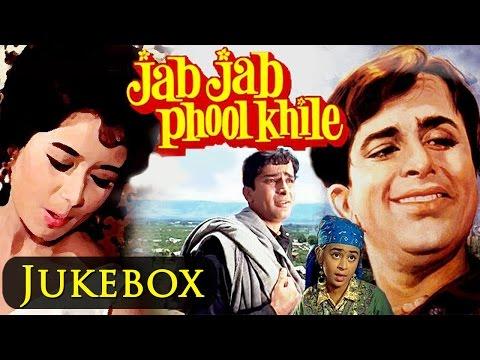 Jab Jab Phool Khile (HD)  - All Songs - Video Jukebox - Shashi Kapoor & Nanda - Evergreen Songs