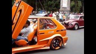 Caravana de autos tuning - motorcade tuning - ajuste carreata