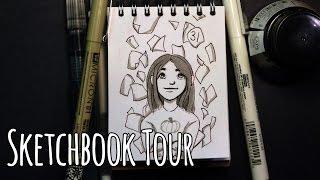 2016 Sketchbook Tour - INKTOBER!