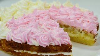How to make simple buttercream - طرز تهیه باترکریم برای تزیین کیک