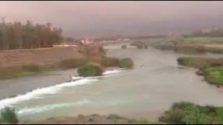 نهر ديالى في حمرين/محافظة ديالى