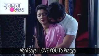 Kumkum Bhagya | 26th September 2016 | Abhi Says I LOVE YOU To Pragya