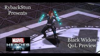 Marvel Heroes: Black Widow QoL Preview!