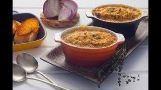 المطبخ الفرنسى - شوربة البصل على الطريقة الفرنسية - مع نهاد النجار