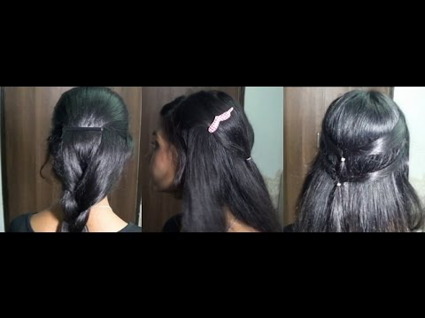 3 Easy Indian Inspired Hairstyles!
