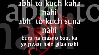 Abhi Na Jao Chod Kar -Lyrics.wmv